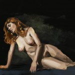 Mark L Middleton, figure study, digital