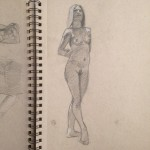 Mark L Middleton, figure studies